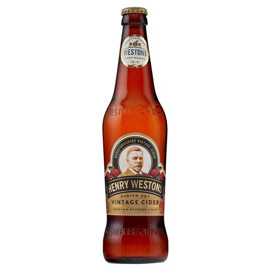 Henry Westons Vintage Cider